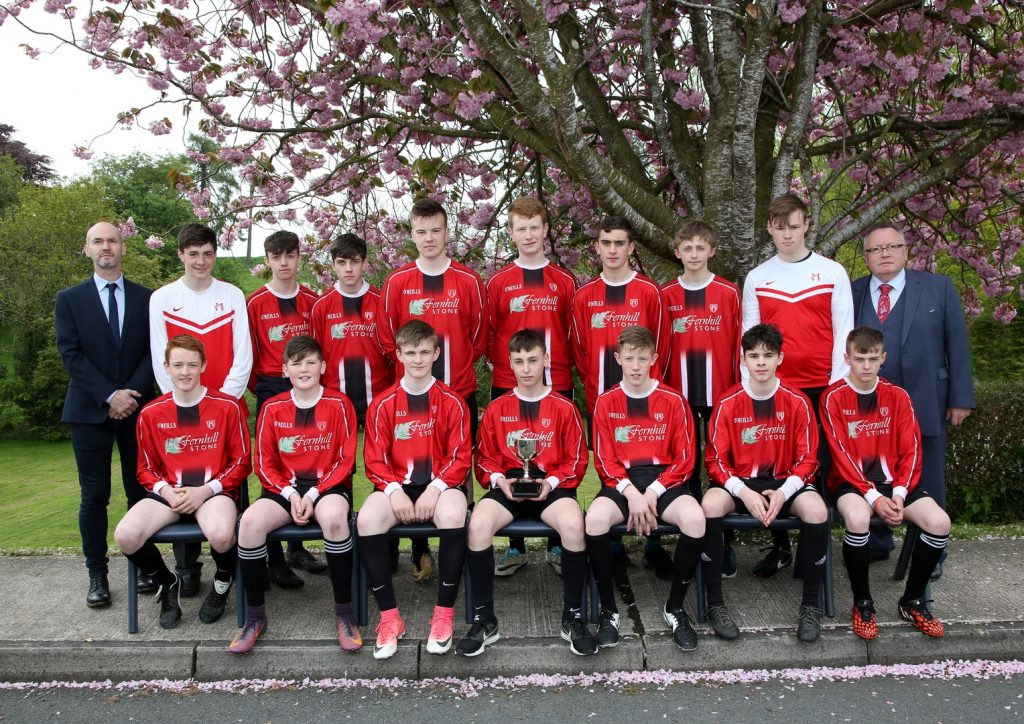 Under 16 Boys Regional Winners 2018