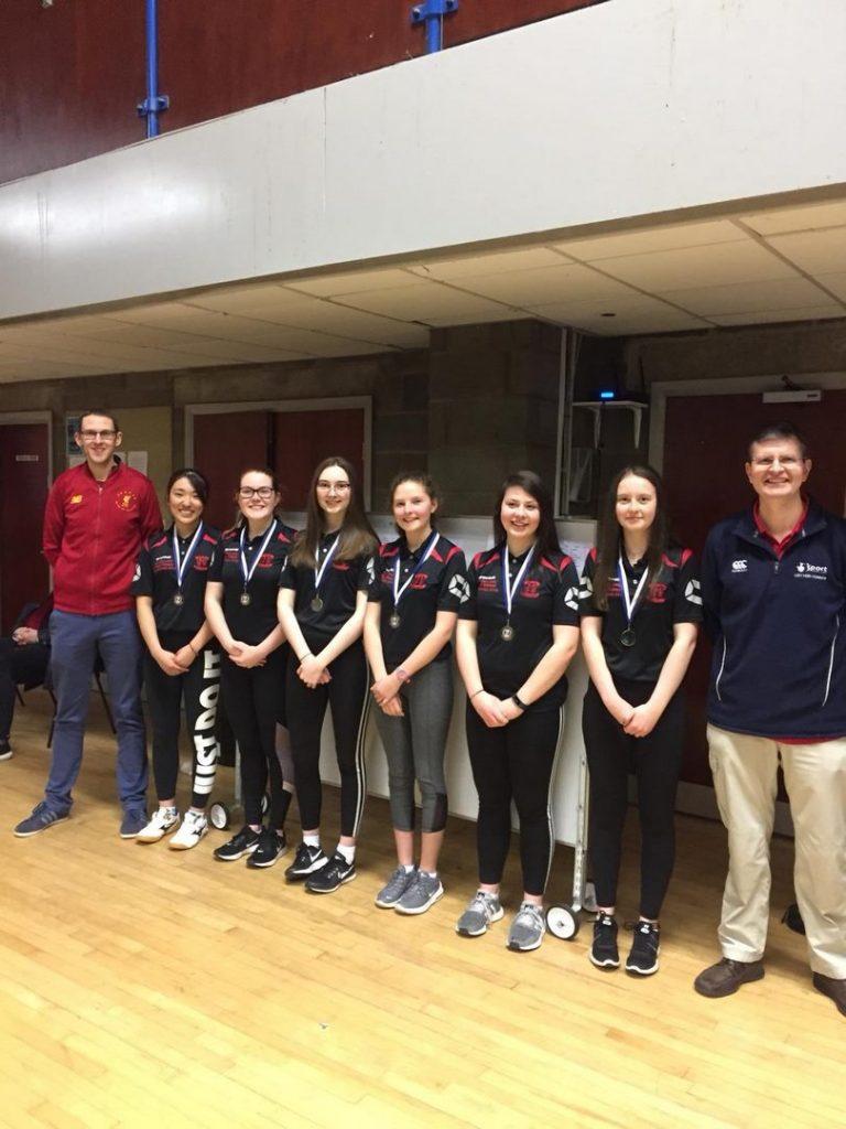 Ulster Schools' U19 Girls 2nd place