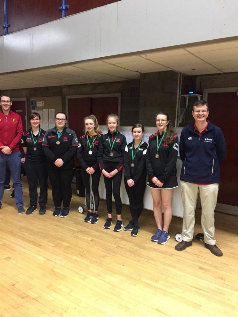 Ulster Schools' U15 Girls 3rd place