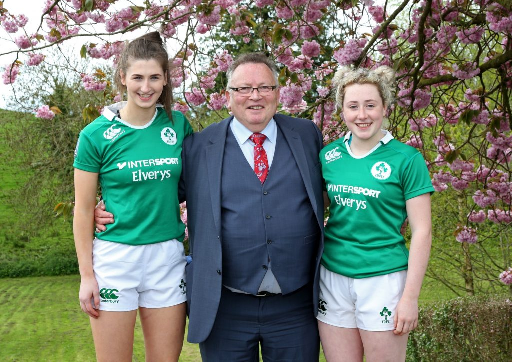 Lucinda Kinghan & Kelly McCormill who won Bronze with the Ireland Under 18 Team in the European Championships 2018