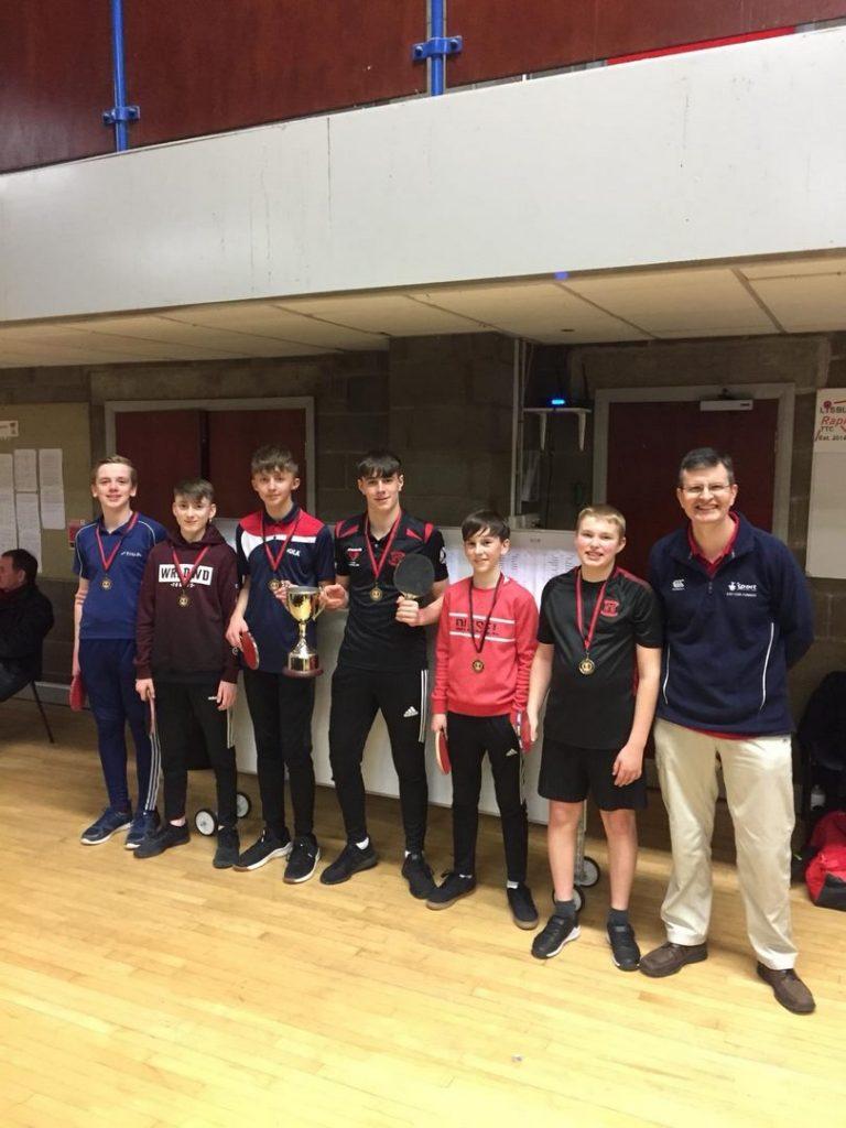 Ulster Schools' U15 Boys 1st place